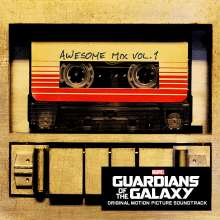 Filmmusik: Guardians Of The Galaxy (Awesome Mix Vol.1), CD