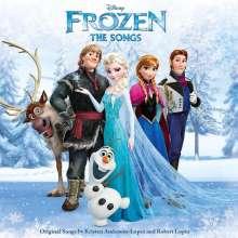 Filmmusik: Frozen (DT: Die Eiskönigin): The Songs, Englisch, CD