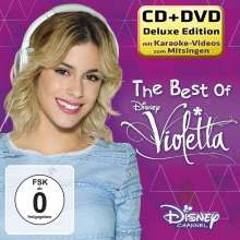 The Best of Violetta - Deluxe CD + DVD, CD