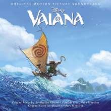 Filmmusik: Vaiana (Englische Version), CD