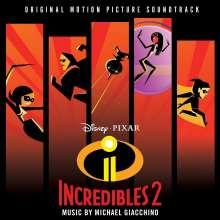 Filmmusik: Incredibles 2, CD