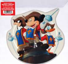 """Filmmusik: All For One And One For All (The Three Musketeers) (Shaped Picture Disc), Single 10"""""""
