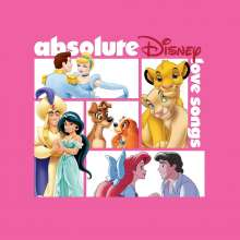 Filmmusik: Absolute Disney: Love Songs, CD