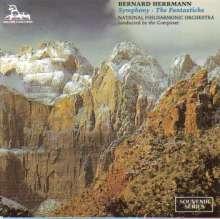 Bernard Herrmann (1911-1975): Symphonie Nr.1, CD