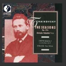 Peter Iljitsch Tschaikowsky (1840-1893): Die Jahreszeiten op.37b (Fass.f.Klavier), CD