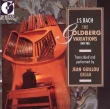 Johann Sebastian Bach (1685-1750): Goldberg-Variationen BWV 988 für Orgel, CD