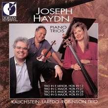 Joseph Haydn (1732-1809): Klaviertrios H15 Nr.12,25,27,28, CD