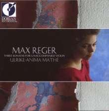 Max Reger (1873-1916): Sonaten f.Violine solo op.91 Nr.2,4,7, CD