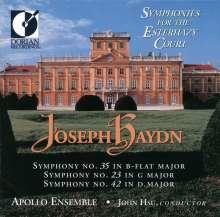 Joseph Haydn (1732-1809): Symphonien Nr.23,35,42, CD