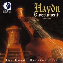 Joseph Haydn (1732-1809): Baryton-Trios H11 Nr.50,52,57,59,67,107, CD