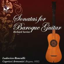 Richard Savino - Sonatas for Baroque Guitar, CD
