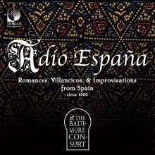 Adio Espana, CD