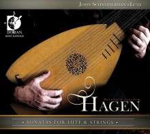 Bernhard Joachim Hagen (1720-1787): Sonaten für Laute & Streicher, CD