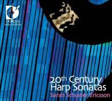 Sarah Schuster Ericsson - 20th Century Harp Sonatas, CD
