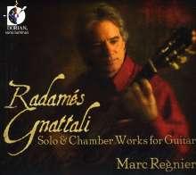 Radames Gnattali (1906-1988): Kammermusik mit Gitarre, CD