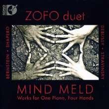 Zofo Duet - Mind Meld (Werke für Klavier 4-händig), CD