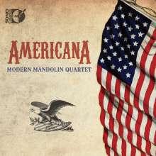 Modern Mandolin Quartet - Americana, 2 Blu-ray Audios