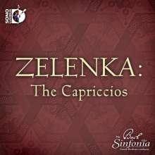 Jan Dismas Zelenka (1679-1745): Capricci ZWV 182-185,190, Blu-ray Audio