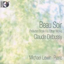 Claude Debussy (1862-1918): Preludes Heft 2, 1 Blu-ray Audio und 1 CD