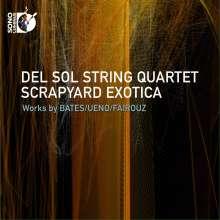 Del Sol String Quartet - Scrapyard Exotica, 1 Blu-ray Audio und 1 CD