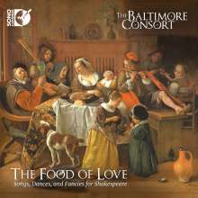 The Food of Love - Songs, Dances and Fancies for Shakespeare, CD