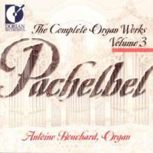 Johann Pachelbel (1653-1706): Sämtliche Orgelwerke Vol.3, CD