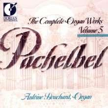 Johann Pachelbel (1653-1706): Sämtliche Orgelwerke Vol.5, CD