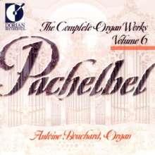 Johann Pachelbel (1653-1706): Sämtliche Orgelwerke Vol.6, CD