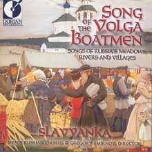 "Men's Russian Chorus ""Slavyanka"" - Song of the Volga Boatmen, CD"