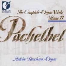 Johann Pachelbel (1653-1706): Sämtliche Orgelwerke Vol.11, CD