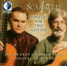 Domenico Scarlatti (1685-1757): Cembalosonaten für Gitarrenduo, CD