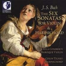 Johann Sebastian Bach (1685-1750): Sonaten für Violine & Cembalo BWV 1014-1016, CD