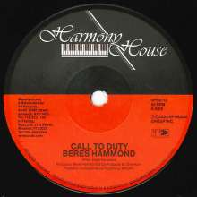 """Beres Hammond: Call To Duty/Survival (Limited Edition), Single 7"""""""