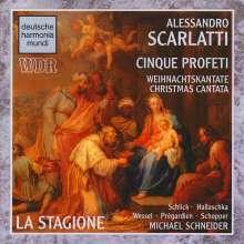 """Alessandro Scarlatti (1660-1725): Weihnachtskantate """"Cinque Profeti"""", CD"""