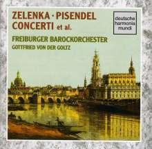 Johann Georg Pisendel (1687-1755): Violinkonzert in D, CD