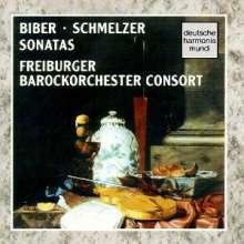 Johann Heinrich Schmelzer (1623-1680): 3 Sonaten, CD