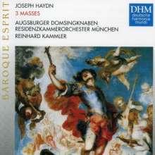 Joseph Haydn (1732-1809): Messen Nr.1,6,7, CD