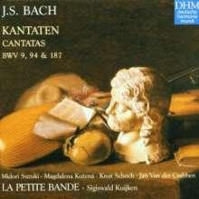 Johann Sebastian Bach (1685-1750): Kantaten BWV 9,94,187, CD