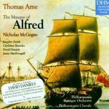 Thomas Arne (1710-1778): Alfred, CD