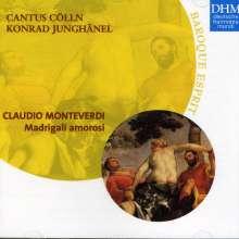 Claudio Monteverdi (1567-1643): Madrigali, CD