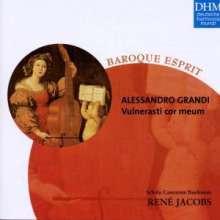 Alessandro Grandi (1575-1630): Geistliche Musik, CD