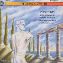Marjan Mozetich (geb. 1948): Procession, CD