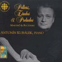 Walter Buczynski (geb. 1933): The August Collection - 24 Preludes für Klavier, CD