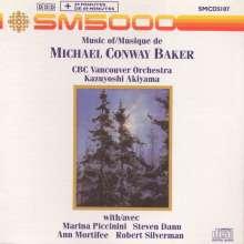 Michael Conway Baker (geb. 1937): Konzert für Klavier & Kammerorchester, CD