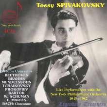 Tossy Spivakovsky - Legendary Treasures, 4 CDs