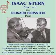 Isaac Stern - Live Vol.2, 2 CDs