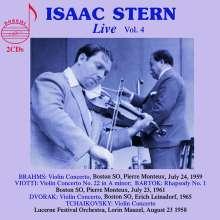 Isaac Stern - Live Vol.4, 2 CDs