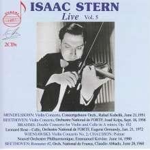 Isaac Stern - Live Vol.5, 2 CDs