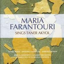 Maria Farantouri: Maria Farantouri Sings Taner Akyol, CD
