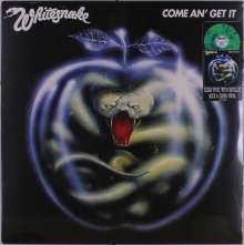 Whitesnake: Come An' Get It (Clear with Metallic Blue & Green Swirl Vinyl), LP
